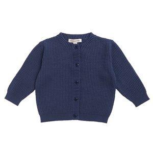 CARAMEL • Navy Blue Camden Cardigan Sweater